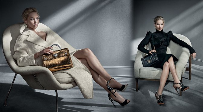 Jennifer Lawrence – Dior Handbags Fall/Winter 2016 Campaign