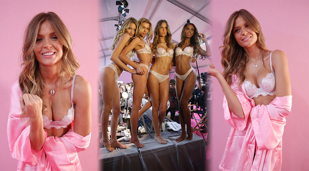 Josephine Skriver - 2016 Victoria's Secret Fashion Show in Paris