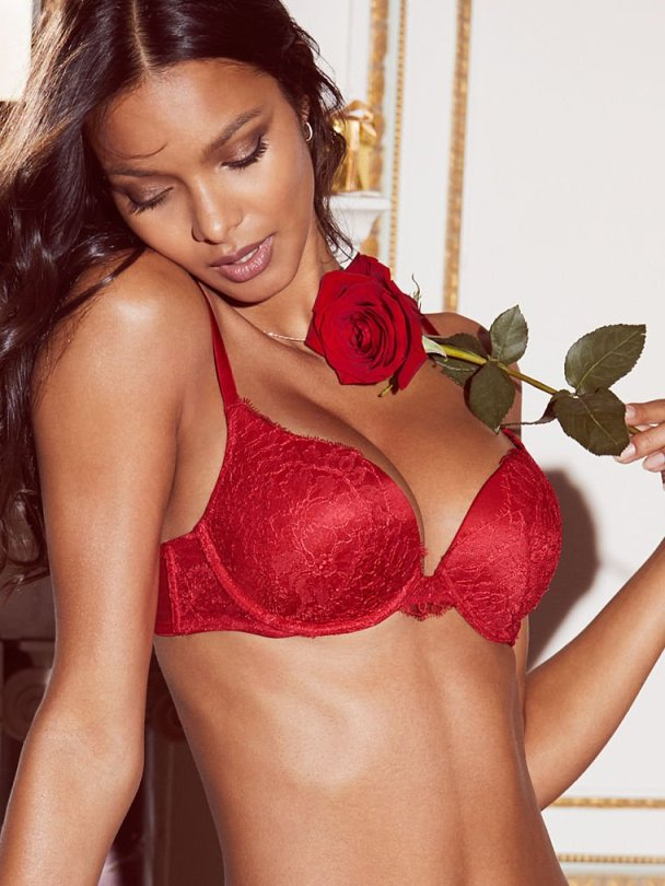 Lais Ribeiro - Victoria's Secret Lingerie Photoshoot