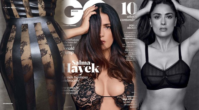 Salma Hayek – GQ Mexico Magazine (November 2016)