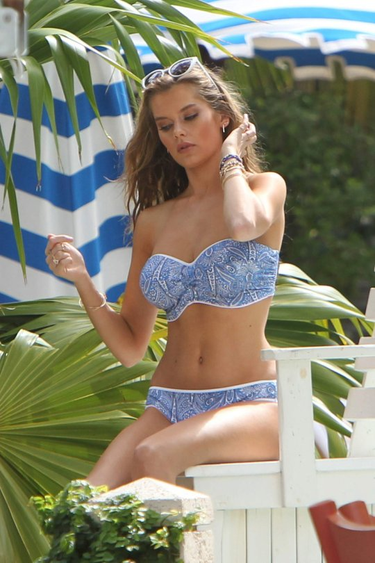 Solveig Mork Hansen - Bikini Photoshoot Candids in Miami Beach