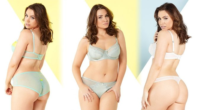 """Sophie Simmons – """"Adore Me"""" Lingerie Photoshoot"""