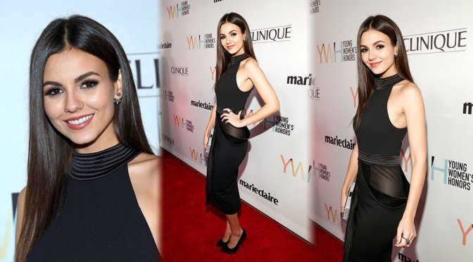 Victoria Justice – 1st Annual Marie Claire Young Women's Honors