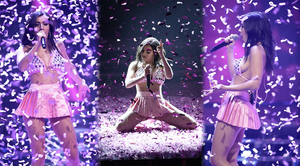 Charli XCX Performs Live on X Factor in London