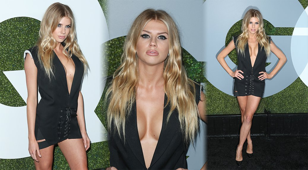 Charlotte McKinney - GQ Men of The Year Awards 2016