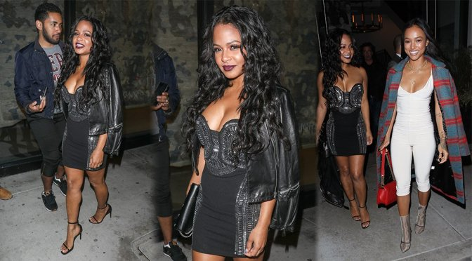 Christina Milian – Candids in West Hollywood