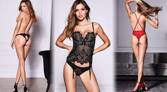 Josephine Skriver - Victoria's Secret Lingerie Photoshoot