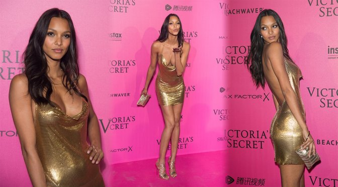 Lais Ribeiro – 2016 Victoria's Secret Fashion Show After Party in Paris