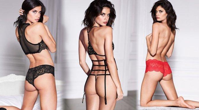 Sara Sampaio - Victoria's Secret Lingerie Photoshoot