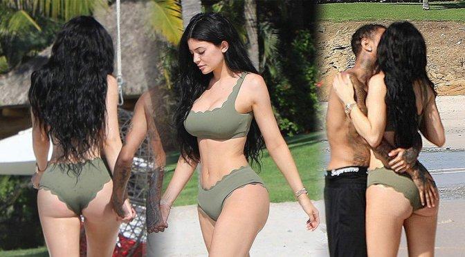 Kylie Jenner – Bikini Candids in Punta Mita