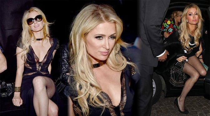 "Paris Hilton – ""Moschino"" Fashion Show in Milan"