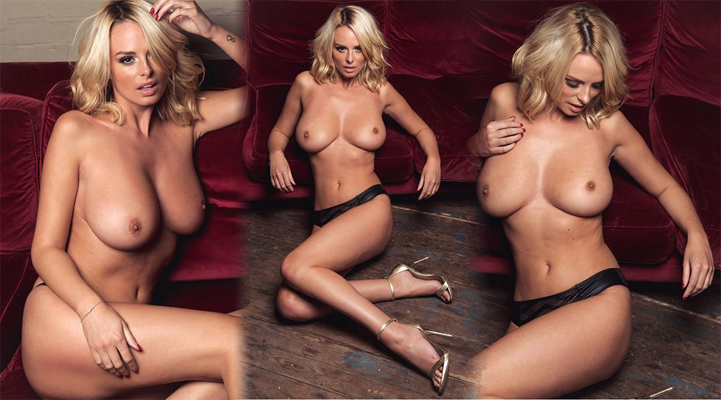 Rhian Sugden - Page 3 Topless Photoshoot