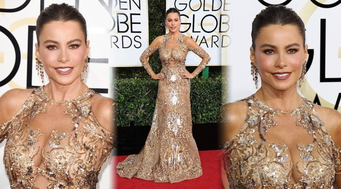 Sofia Vergara – 74th Annual Golden Globe Awards