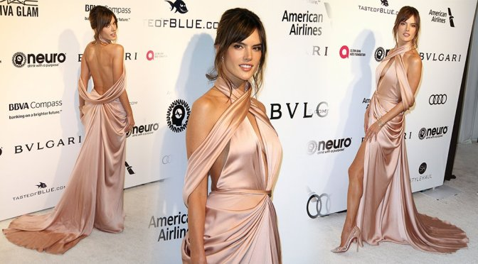 Alessandra Ambrosio – Elton John AIDS Foundation's Oscars Viewing Party