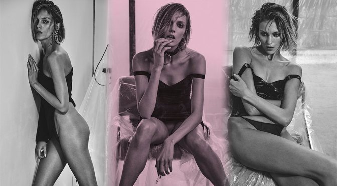 Anja Rubik – Vogue Magazine Photoshoot (February 2017)