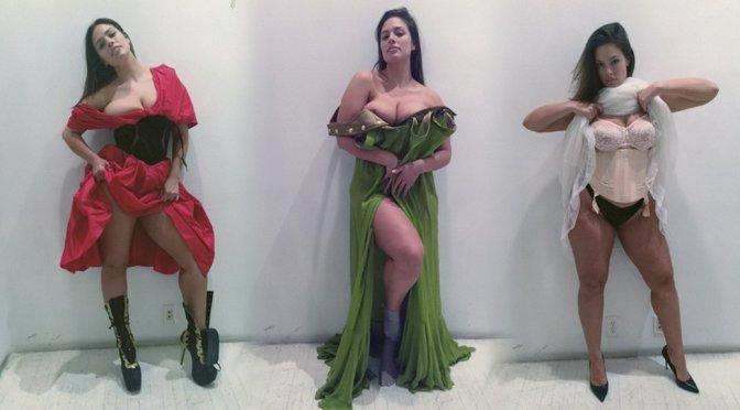Ashley Graham – V Magazine Photoshoot Polaroids