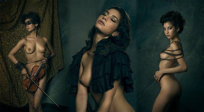 """Emilie Payet – Leica S Magazine """"Shades of Sensuality"""" Photoshoot (NSFW)"""