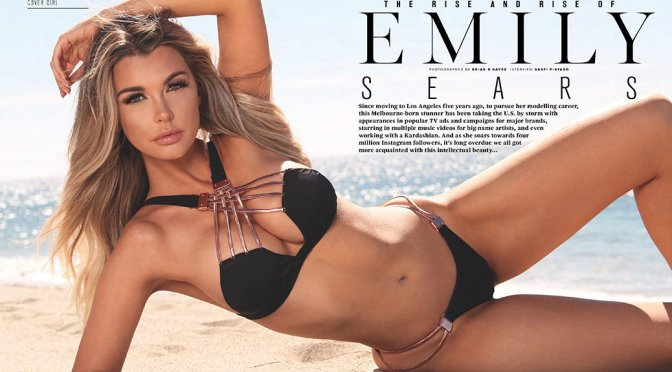 Emily Sears – Maxim Australia Magazine (February 2017)