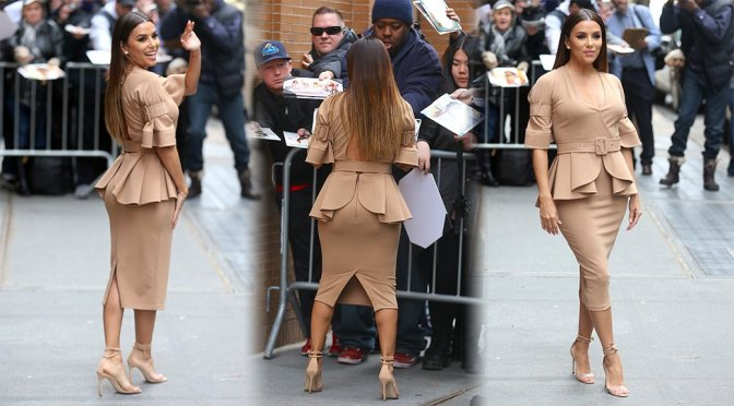Eva Longoria – Candids in New York