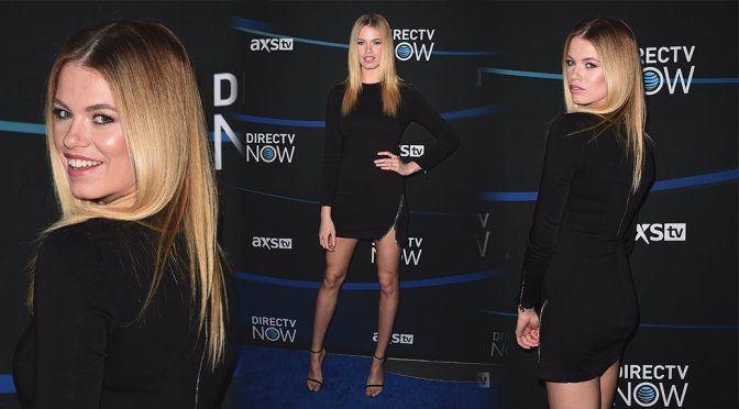 Hailey Clauson – 2017 DIRECTV NOW Super Saturday Night Concert in Houston