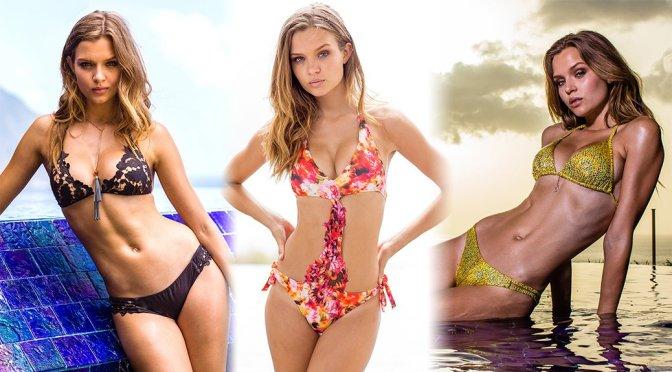 "Josephine Skriver – ""Sauvage"" Bikini Photoshoot"