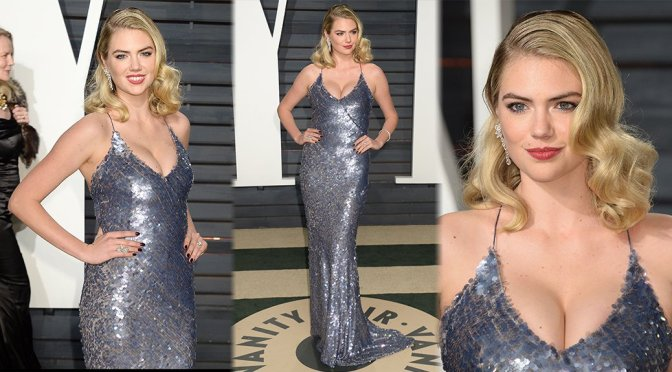 Kate Upton – 2017 Vanity Fair Oscar Party in Beverly Hills