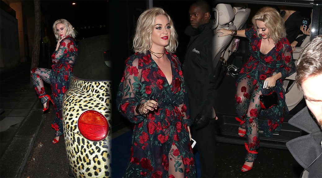 Katy Perry - Universal Music Party in London
