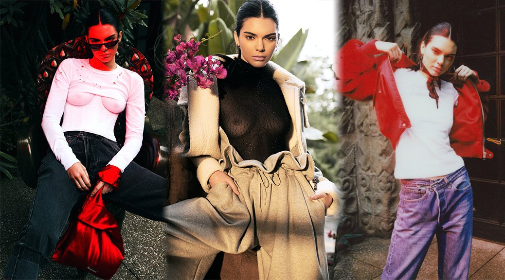 Kendall Jenner - Kendall + Kylie DropOne Photoshoot