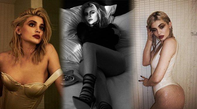 Kylie Jenner – Violet Grey Photoshoot