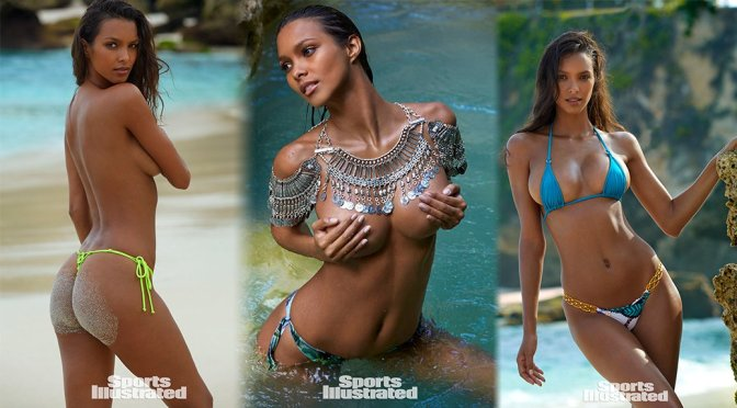 Lais Ribeiro – Sports Illustrated Swimsuit Issue 2017