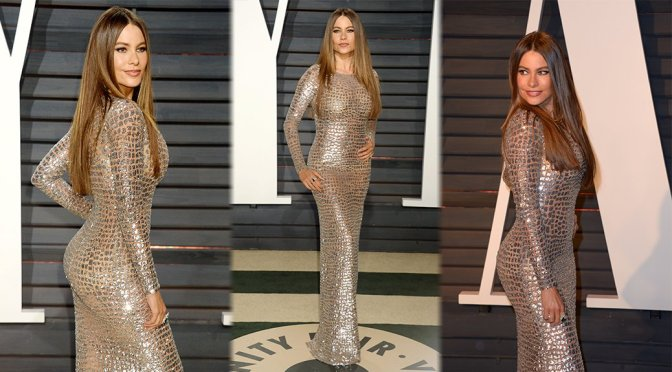 Sofia Vergara – 2017 Vanity Fair Oscar Party in Beverly Hills
