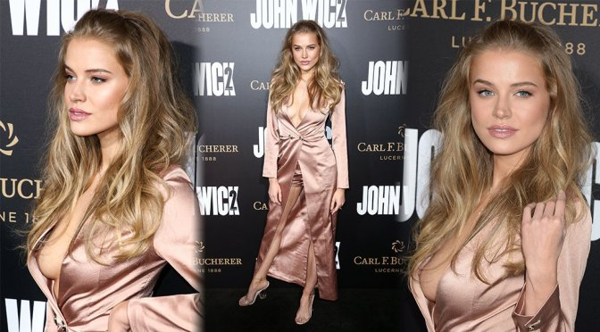"Tanya Mityushina – ""John Wick: Chapter 2"" Premiere in Los Angeles"