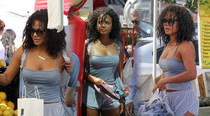 Christina Milian – Candids in Studio City