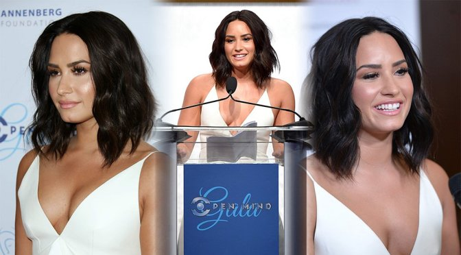 Demi Lovato – Open Mind Gala in Los Angeles