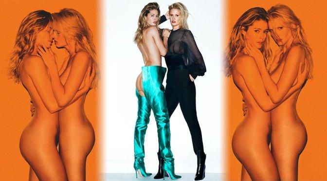Doutzen Kroes & Lara Stone – Vogue Netherlands Magazine Photoshoot (April 2017)