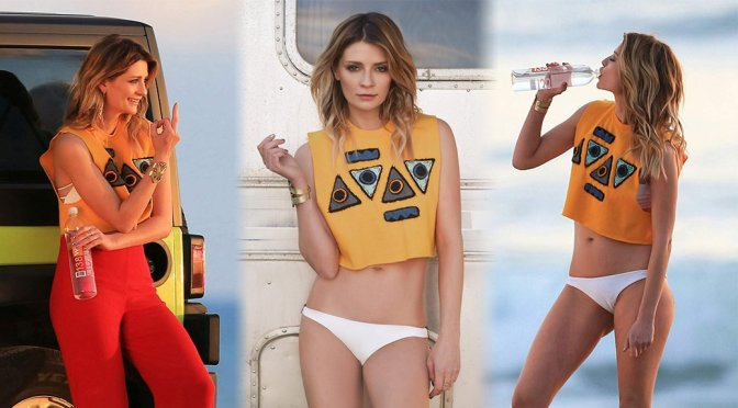 "Mischa Barton – ""138 Water"" Bikini Photoshoot in Malibu"