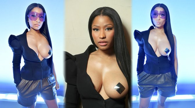 Nicki Minaj – Haider Ackermann Fashion Show in Paris