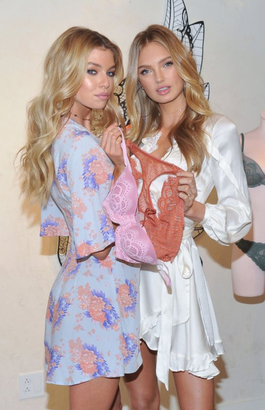 """Romee Strijd & Stella Maxwell - """"Dream Angels"""" Collection Launch in New York"""