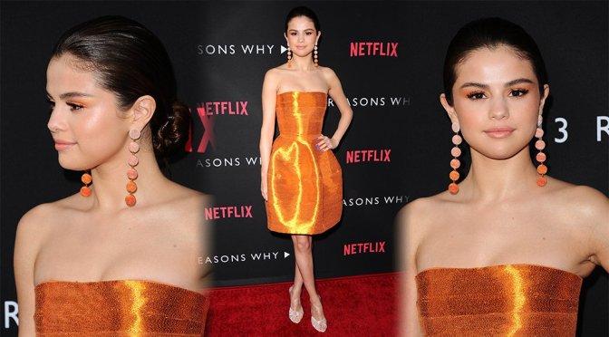 "Selena Gomez – ""13 Reasons Why"" Premiere in Los Angeles"