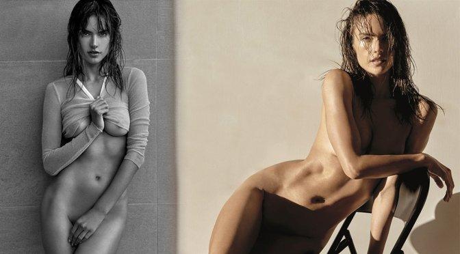 Alessandra Ambrosio naked in Narcisse Magazine N6 2017