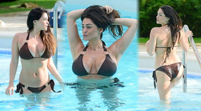 Casey Batchelor – Bikini Candids in Dominican Republic