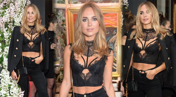 Kimberley Garner - Bradley Theodore ''The Second Coming'' VIP Private View London