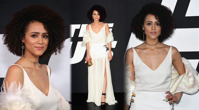 "Nathalie Emmanuel – ""Fate Of The Furious"" Premiere in New York"