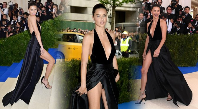 Adriana Lima – 2017 MET Costume Institute Gala in New York