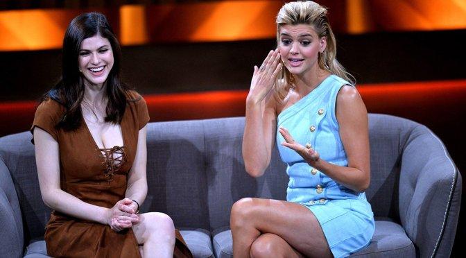 "Alexandra Daddario & Kelly Rohrbach – ""Mensch Gottschalk…"" Show in Berlin"