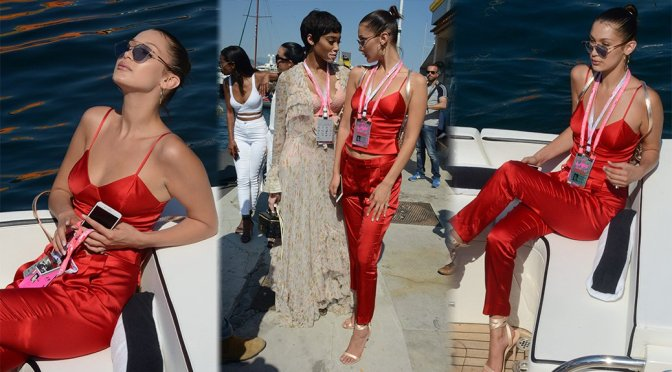 Bella Hadid – Candids in Monaco