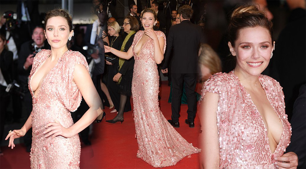 "Elizabeth Olsen - ""The Square"" Premiere in Cannes"