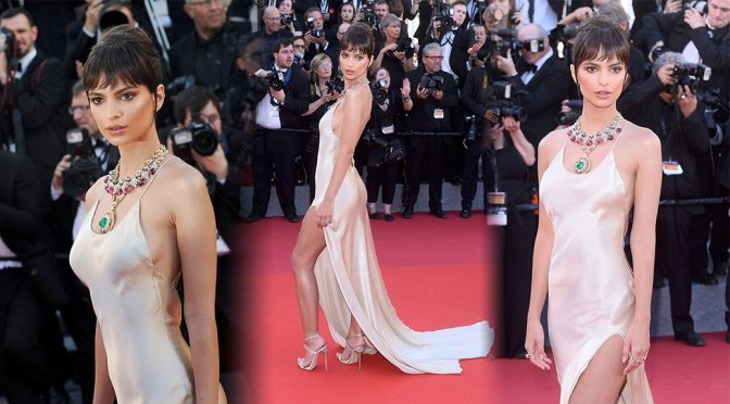 Emily Ratajkowski – 70th Cannes Film Festival Opening Ceremony