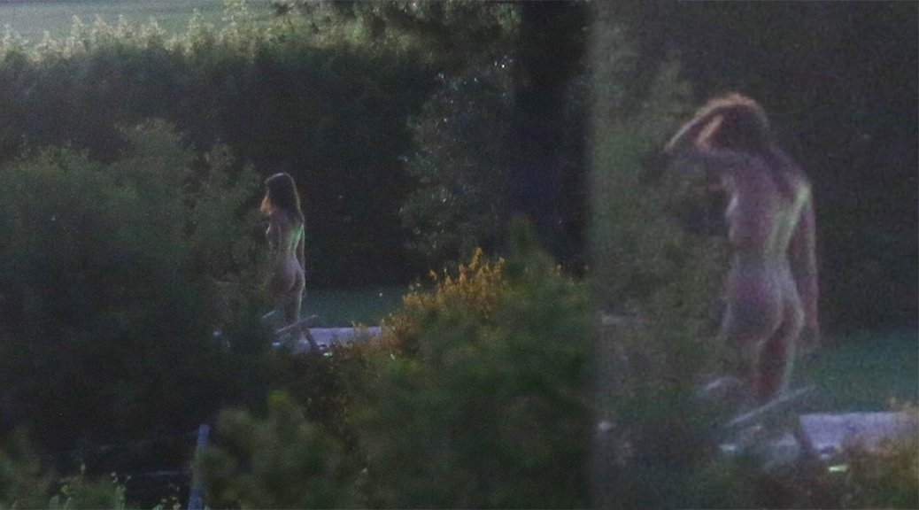 "Emily Ratajkowski Naked on ""Welcome Home"" Movie Set in Italy"