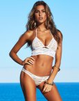 Kara Del Toro sexy body for beach bunny swimwear 2017